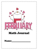 February Math Journal for K and 1st