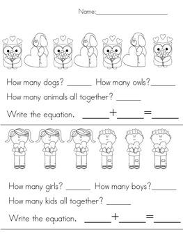 February Math (Kindergarten)