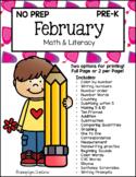 February Math & Literacy
