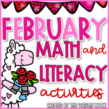 February Math & Literacy Activities