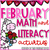 February Math & Literacy Activities Bundle