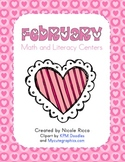 February Math & Literacy Centers
