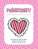 February Math & Literacy Centers