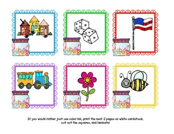 February Math & Literacy Centers- K or 1st