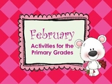 February Math & Literacy: Valentine, Black History, Groundhog, 100th Day & More!
