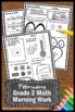 February Math Worksheets, 2nd Grade Morning Work, Early Finishers