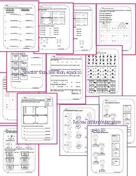 First Grade Math Pack {February}