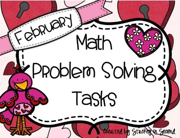 February Math Problem Solving Tasks