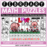 February Math Puzzles