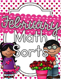 February Math Sorts - CCSS Aligned for Grades K-2