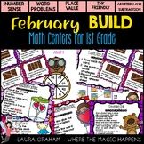 BUILD February Math Centers for First Grade