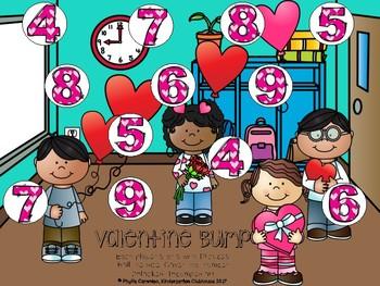 February Math Stations