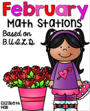 February Math Stations {Based on BUILD}