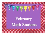 February Math Stations (Common Core Aligned)