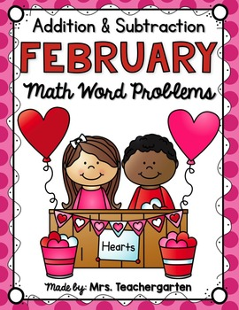 February Math Word Problems