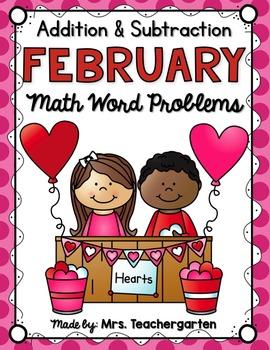 February Math Word Problems