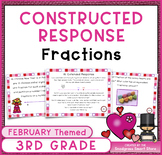 February Math Activities: Fractions Word Problems