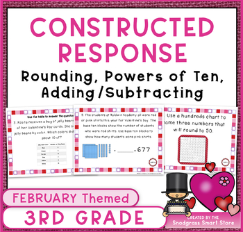 February Math Word Problems: Number and Operations in Base Ten
