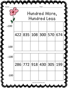 February Math Worksheet Pack {2nd Grade}