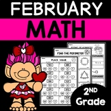 February Math Worksheets 2nd Grade