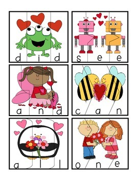 February Math and Literacy Activities