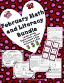 February Math and Literacy Bundle