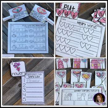 February Math and Literacy Centers {CCSS} (Valentine's Day)