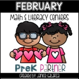 February: Math and Literacy Centers