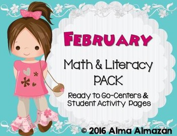 February Math and Literacy Pack Updated