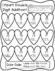 February Math for First Grade- Worksheets, Center Activiti