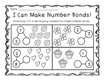 February Math for Kindergarten
