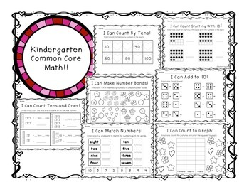 February Math for Kindergarten