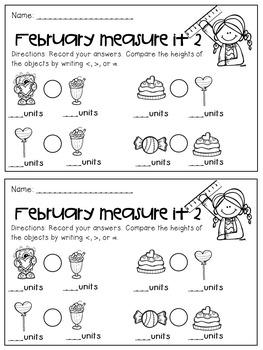 February Measure and Compare
