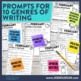 February Mega-Writing Packet {Task Card Prompts, Posters,