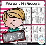 February Mini Books...Print, Fold, Read!