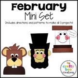 February Mini Set {Groundhog, Abraham Lincoln, & I Love you Smore}