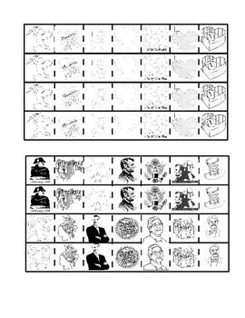 February Montessori Cutting Strips