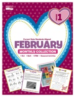February Monthly Collection, Grade 1