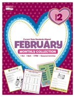 February Monthly Collection, Grade 2