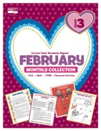 February Monthly Collection, Grade 3