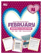 February Monthly Collection, Grade 4
