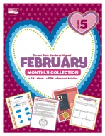 February Monthly Collection, Grade 5