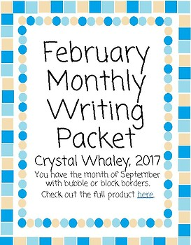 February Monthly Packet