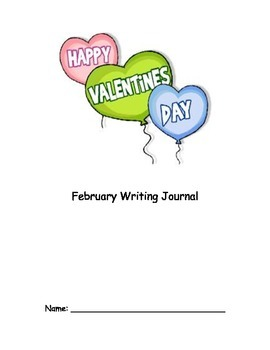 February Monthly Writing Journal