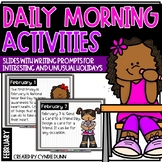 February Morning Activities