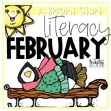 February Morning Bright {Kindergarten Literacy Morning Work}