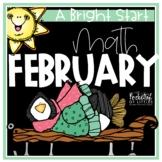 February Morning Bright {Kindergarten Math Morning Work}
