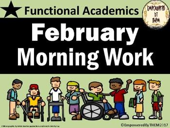 February Morning Folder - Functional Academics