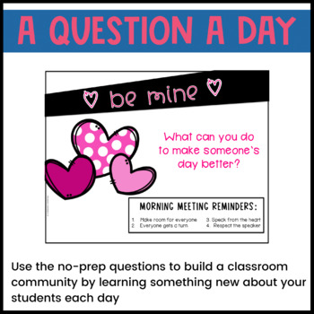 February Morning Meeting -- Question of the Day