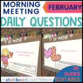 February Morning Meeting Questions